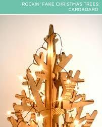 cardboard christmas tree brightnest 2x4 four rockin christmas trees