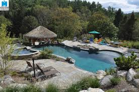 harbor grey river rok pool plaster finishes pinterest backyard