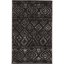 area rugs home decorators home decorators collection tribal essence black 3 ft 3 in x 4 ft