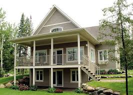 hillside house plans for sloping lots sloped lot house plans home planning ideas 2018