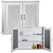 Wood Storage Cabinet With Locking Doors Furniture White Bathroom Wall Cabinet With Three Shelf And Two