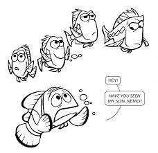 unique finding coloring pages image nemo darla images free