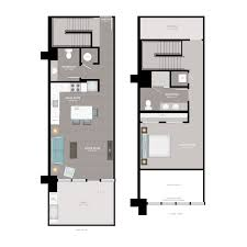 floor plans lofts 1 2 bedroom in downtown atlanta ga the office apartments loft b
