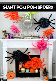 diy halloween spiders craft step by step consumer crafts