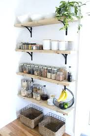 Kitchen Wall Shelves Ideas Kitchen Wall Shelving Kitchen Dramatic Designs With Of Metal