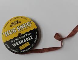 seam binding ribbon brown hug snug seam binding 100 yards rayon ribbon seam