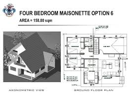 maisonette floor plan four bedroom maisonette option 6 www luh gov sc