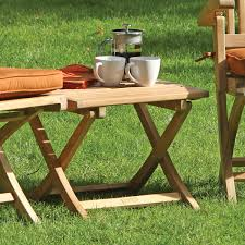 folding table rockport collection by thos baker