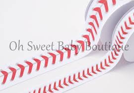 baseball ribbon sports