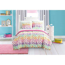 Free Bed Sets Free Shipping Buy Mainstays Spotty Rainbow Bed In A Bag