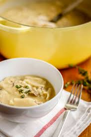 Best Easy Comfort Food Recipes Homemade Chicken And Dumplings Recipe Unsophisticook
