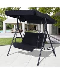 Yard Awning Surprise 27 Off Costway 2 Person Outdoor Patio Swing Canopy