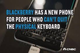 blackberry keyboard for android new blackberry keyone with keyboard and android software launches