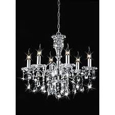 Crystal And Chrome Chandelier Indoor 6 Light Chrome Crystal Candle Light Chandelier Free