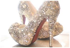 wedding shoes calgary sparkly cinderella wedding shoes
