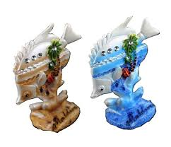 sale painted maldives tropical fish ornaments resin