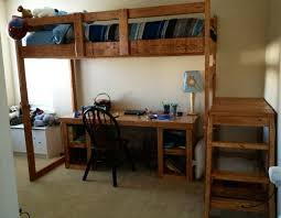 Build Your Own Loft Bed With Desk by 20 Best Bed Plans Images On Pinterest Room Bedroom Ideas And