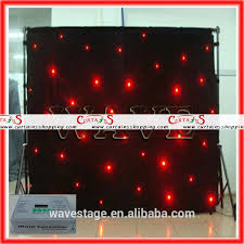 Black Stage Curtains For Sale Black Cloth Led Star Curtain Manufacturers Suppliers