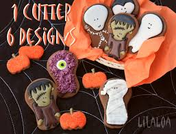 the whole halloween gang on cookies lilaloa the whole