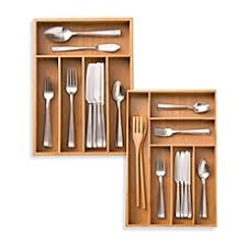 Lipper International Bamboo Kitchen Drawer Dividers by Kitchen Drawer Organizers U0026 Dividers Utensil Organizers Bed