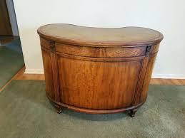 Kidney Bean Shaped Desk Antique Kidney Shaped Desk 1940s Antique Kidney Shaped Desk With