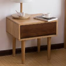 White Solid Wood Bedroom Furniture by Japanese Pure Solid Wood White Oak Bedroom Furniture Bedside