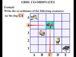 year 4 grid coordinates youtube