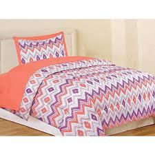 Twin Comforter Feza Chevron 5 Piece Twin Comforter Set 611086589