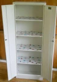 Metal Cabinets Kitchen Vintage Metal Cupboard Cabinet Tall Kitchen By Lisabretrostyle2
