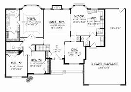 Modern Ranch Home Plans Elegant House Plan Ottawa 30 601 Front