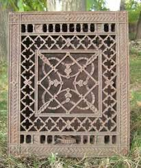 home return air vent cover much nicer decorative wrought iron