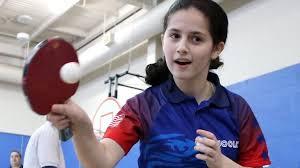Us Table Tennis Team Li U0027s Estee Ackerman Competing At U S Table Tennis Team Trials For