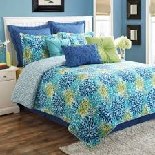 buy quilts blue and green from bed bath beyond