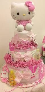 kitty baby shower cake maddies 3rd bday