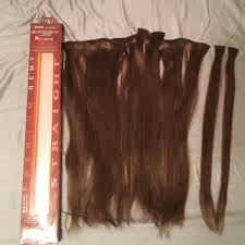 euronext hair extensions 47 euronext accessories hair extensions brown from