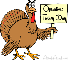 thanksgiving day meal planner operation turkey day a pinch here a dash there