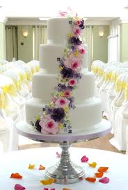 164 best wedding cake floral cascade images on pinterest