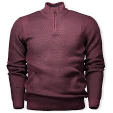 Modern Trim by Ted Baker Pinball Modern Trim Fit Sweater Oxblood Man From