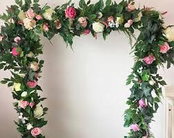 flower arch wedding arch flower etsy