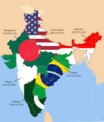 Map Of India States by Map Of India The Second Most Populous Country Fitting The
