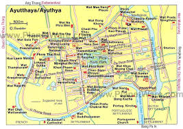 bangkok map tourist attractions 10 top tourist attractions in ayutthaya planetware