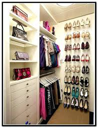 shoe storage small closet stylish shoe storage in closet best shoe