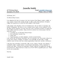 general cover letter general cover letter