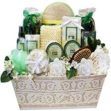 bath gift baskets renewal spa relaxing bath and gift basket set large