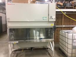 thermo fisher biosafety cabinet thermo scientific biosafety 317741 for sale used