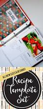 25 unique recipe templates ideas on pinterest cookbook template