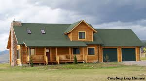 log home floor plans with garage prong horn floor plan 2 218 square cowboy log homes