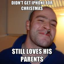 How To Create A Meme On Iphone - didn t get iphone for christmas still loves his parents create meme