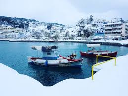 Worst Snowstorm In History by Snowstorm In Alonissos Island Angelos Apartments