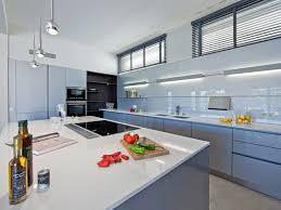 modern cottage design modern gourmet kitchen and glass backsplash design ideas also